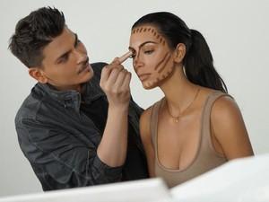 7 Rahasia Makeup dari Makeup Artist Kim Kardashian