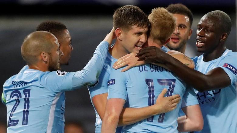 City Akhiri Puasa Kemenangan Tandang di Liga Champions