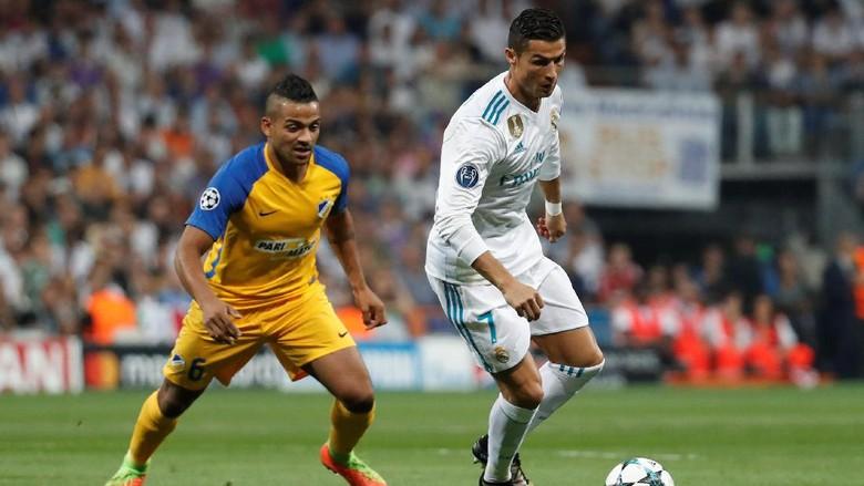 Ronaldo Bawa Madrid Sementara Ungguli APOEL 1-0
