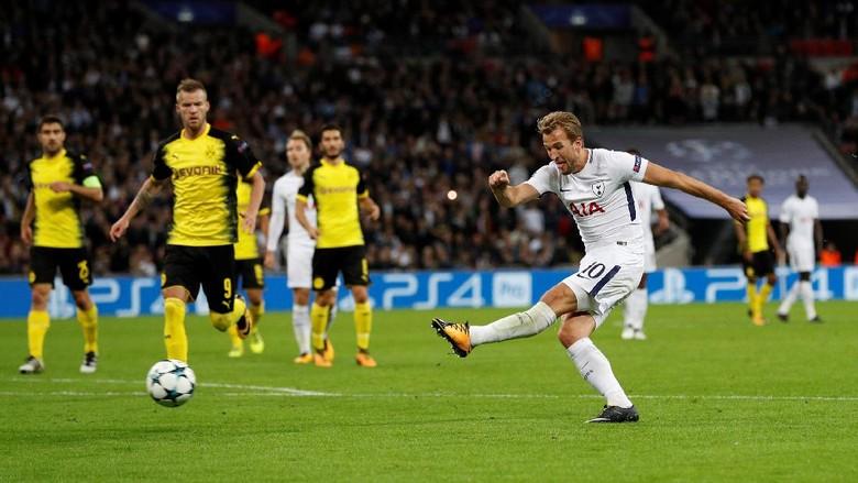 Kane Dua Gol, Spurs Kalahkan Dortmund 3-1