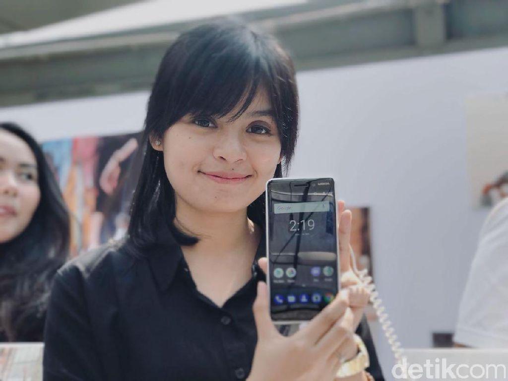Menggenggam Trio Android Nokia Anyar di Jakarta