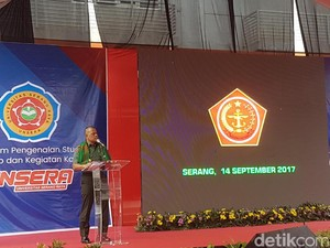 Pidato di Unsera Banten, Panglima TNI Bicara soal Kompetisi Global