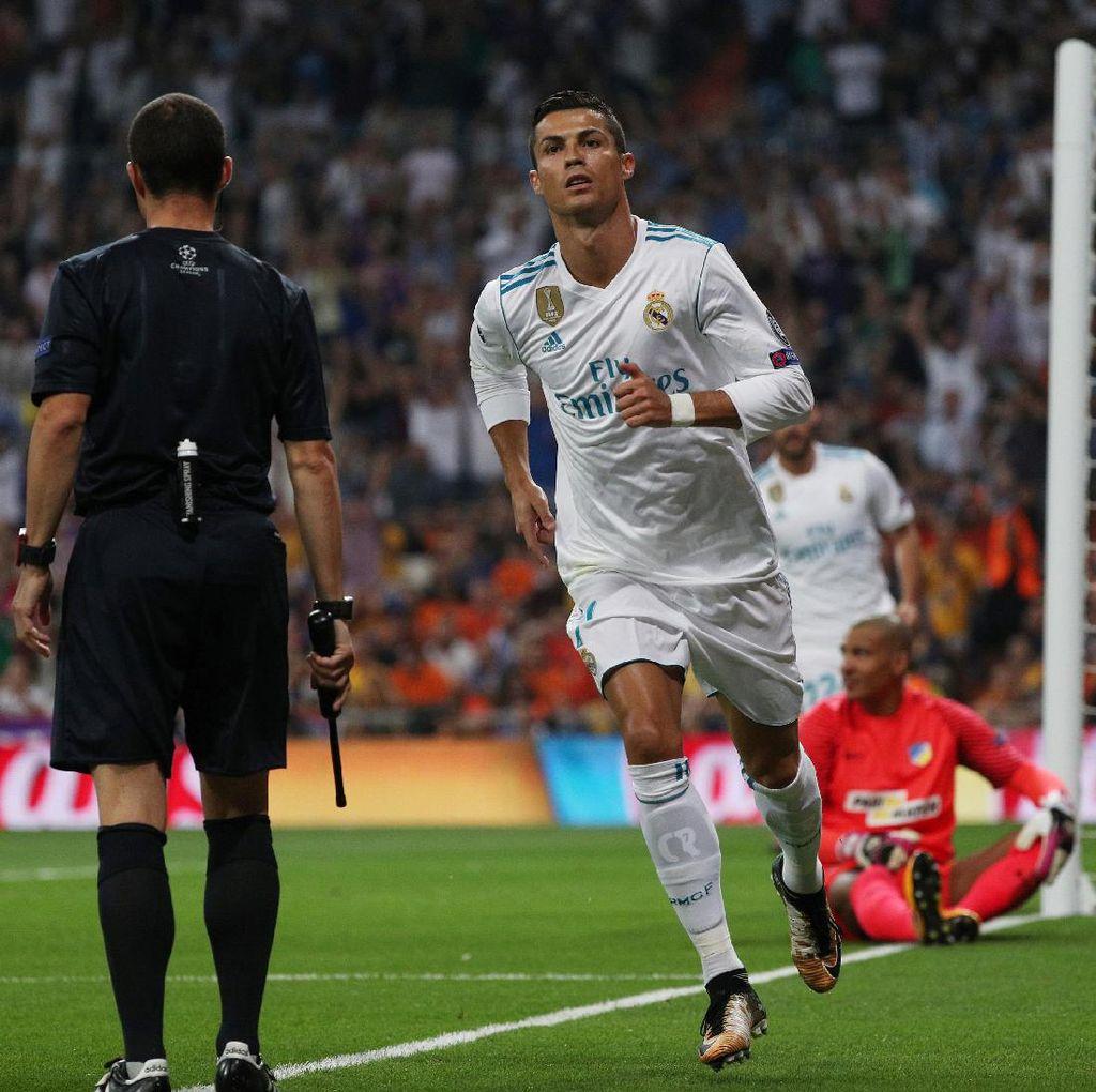 Ronaldo: Liga Champions Kompetisinya Real Madrid
