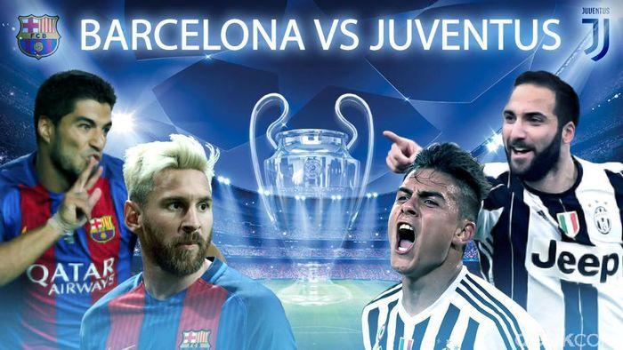 Barcelona Hajar Juventus 3-0