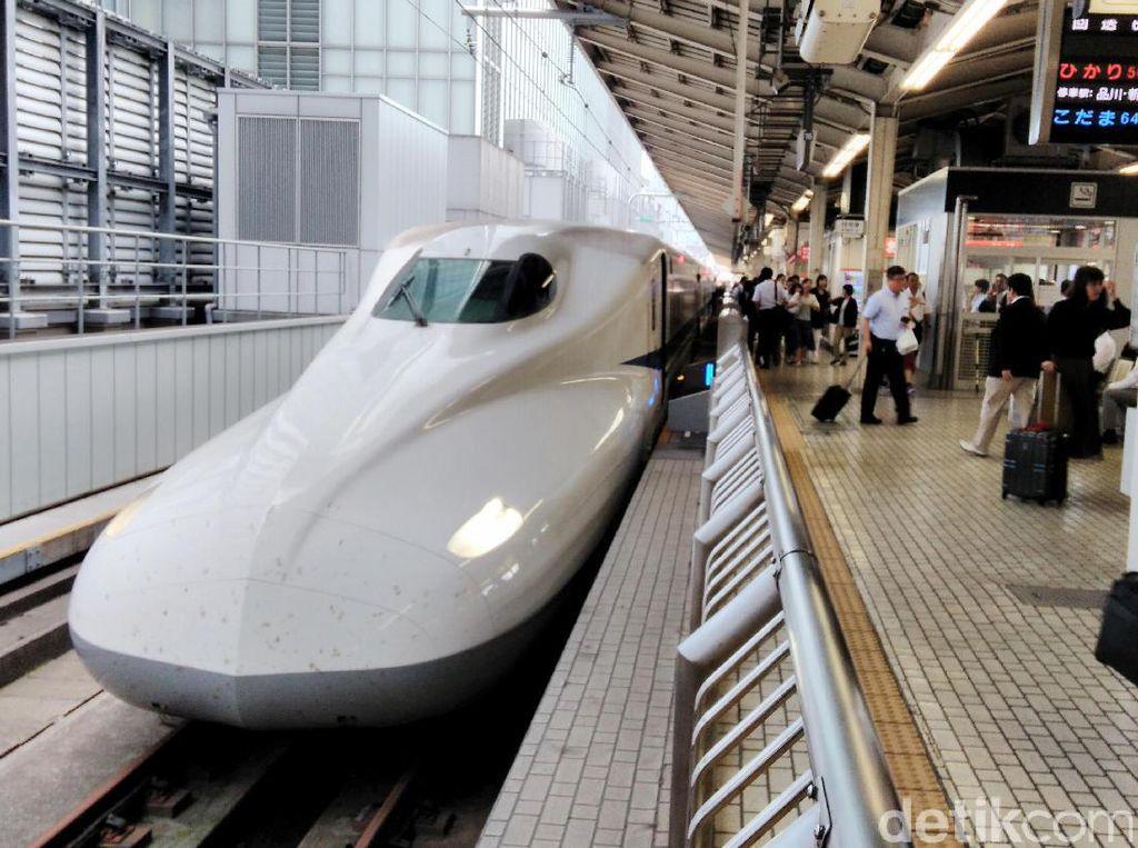 Kalah dari China di JKT-BDG, Jepang Serius Garap Kereta Kencang JKT-SBY