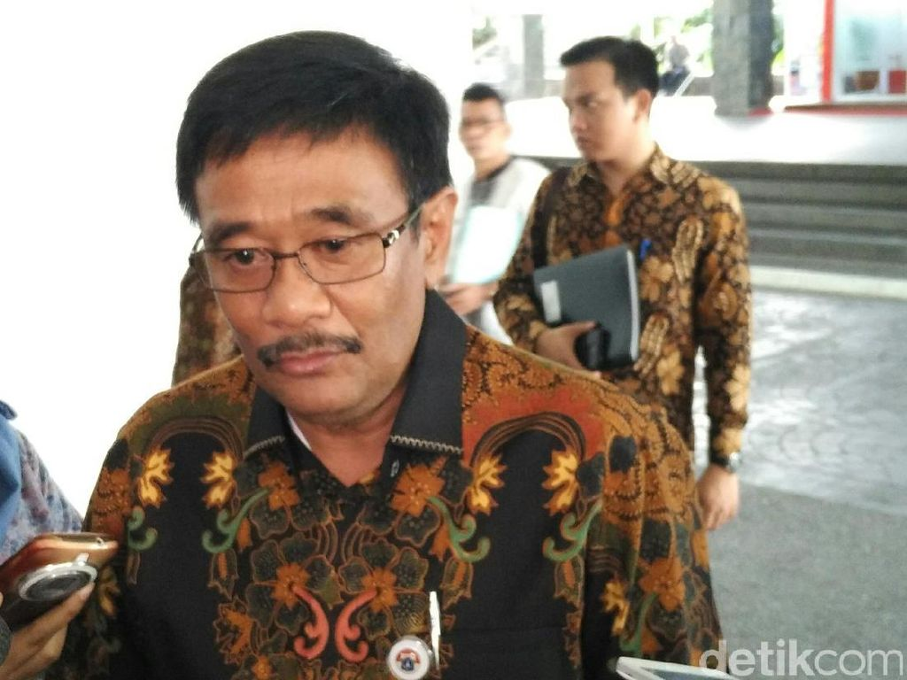 Pegawai PD Pasar Jaya Demo, Djarot: Kalau Nggak Betah, Keluar Saja