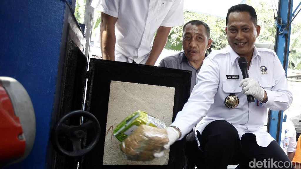 Buwas Musnahkan 39 Kg Shabu Jaringan Malaysia