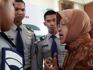 Risma Terharu 5 Siswa Surabaya Diterima Jadi Pilot Citilink