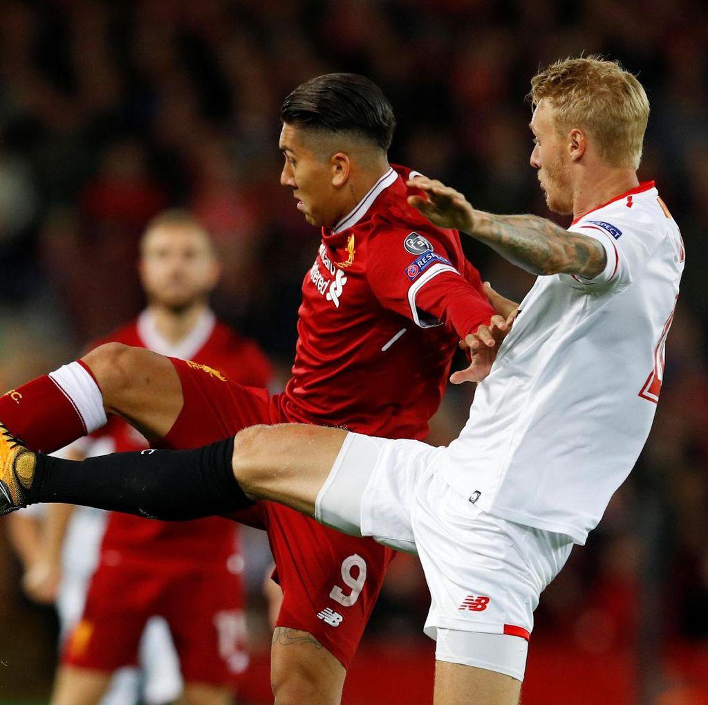 Sevilla Hindari Pertarungan Terbuka Lawan Liverpool