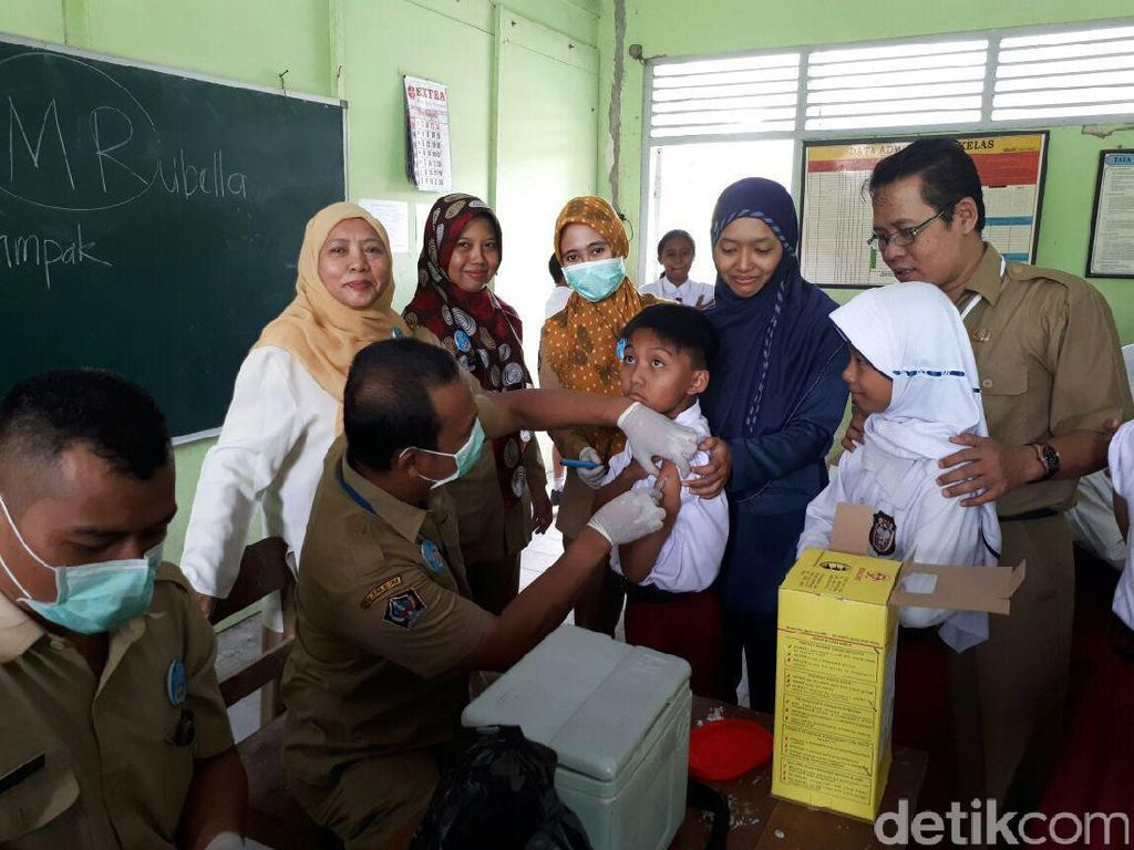 Pasca Imunisasi MR, 315 KIPI Dilaporkan ke Dinkes Kabupaten Blitar