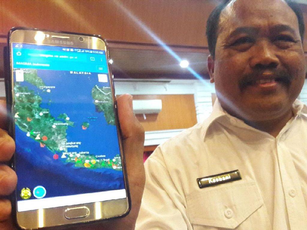 Magma, Aplikasi Android Buat Pantau Bencana di Indonesia