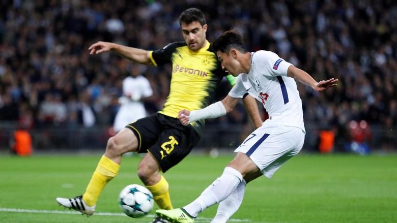 Spurs Sementara Ungguli Dortmund 2-1