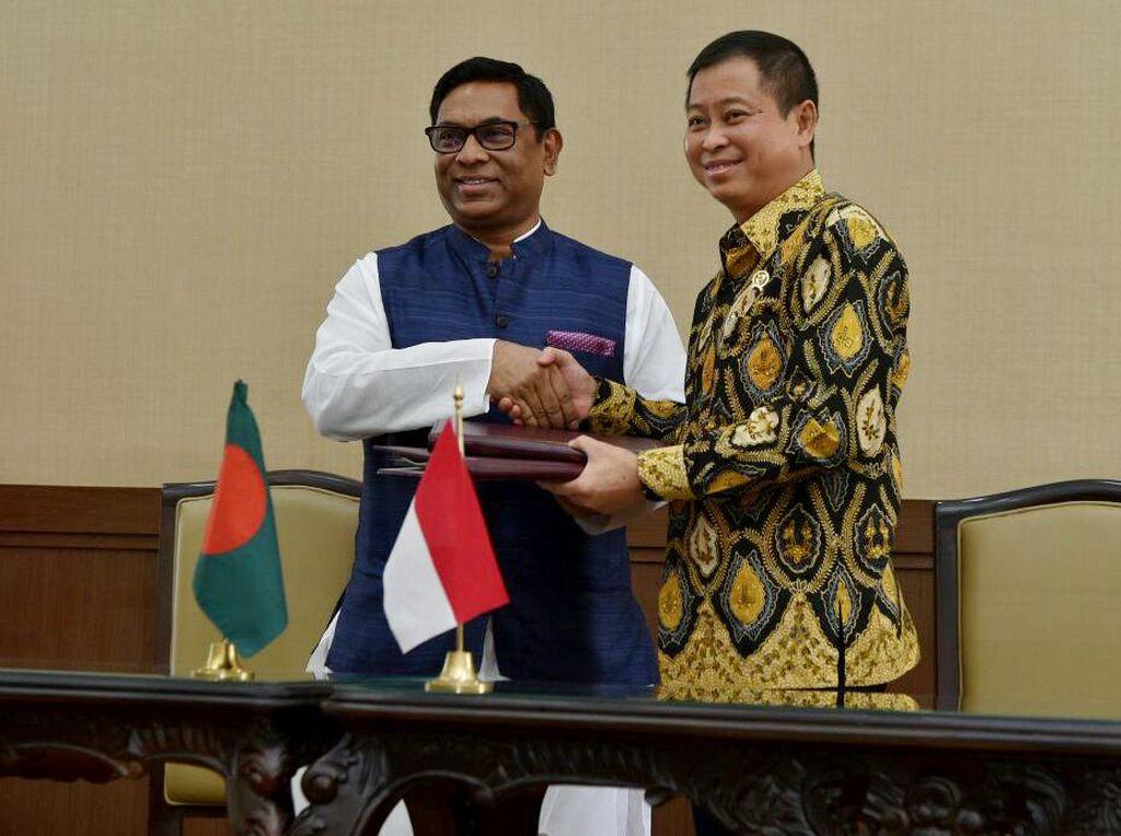 Bangga, Bangladesh Jajaki Beli Gas dari RI