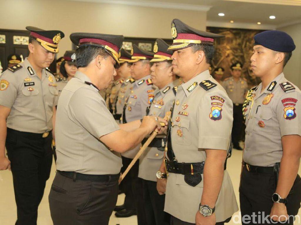 Kapolda Jatim Pimpin Sertijab Tiga Pejabat Utama
