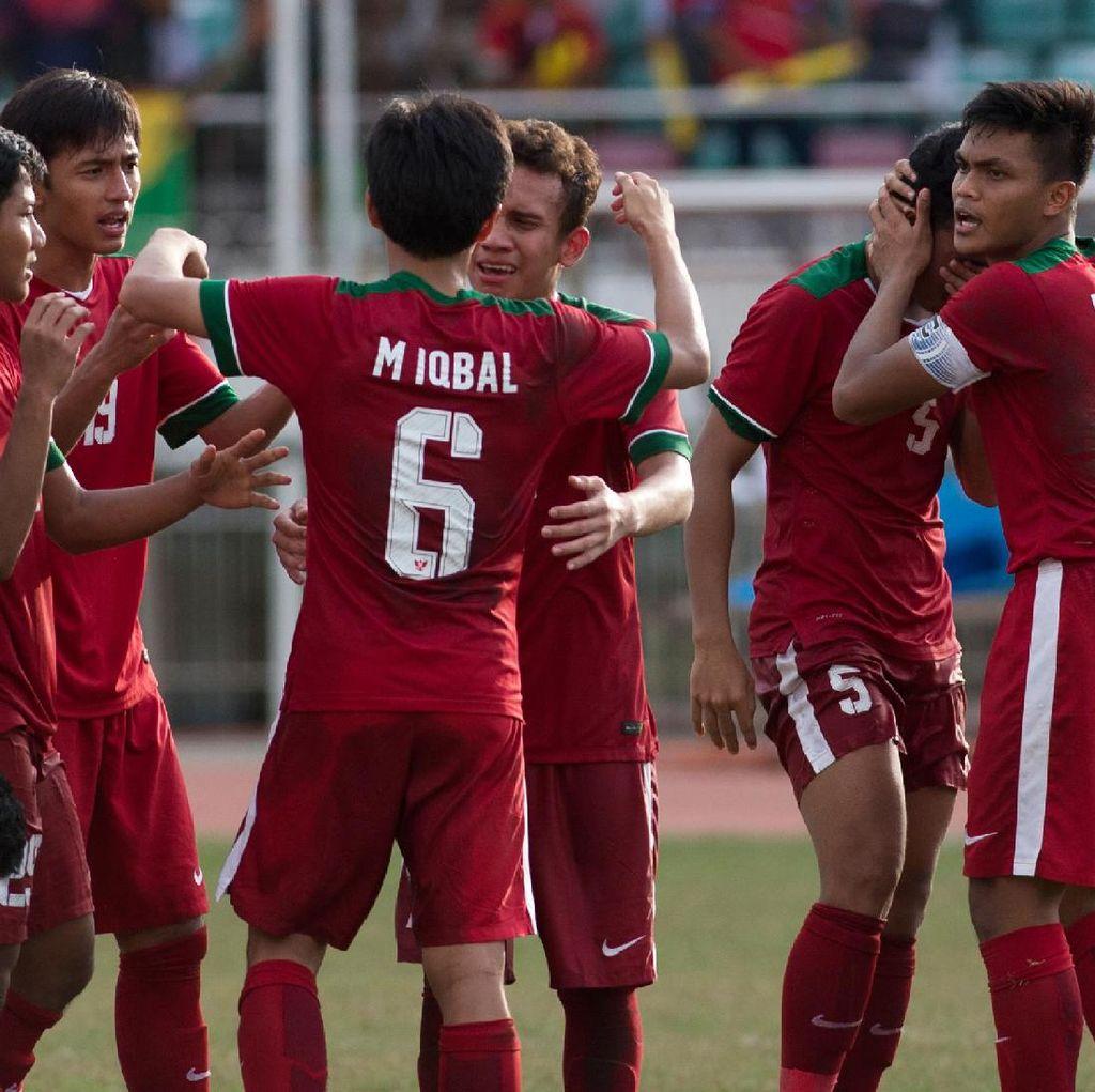 Jadwal Indonesia vs Myanmar dan Final Piala AFF U-18