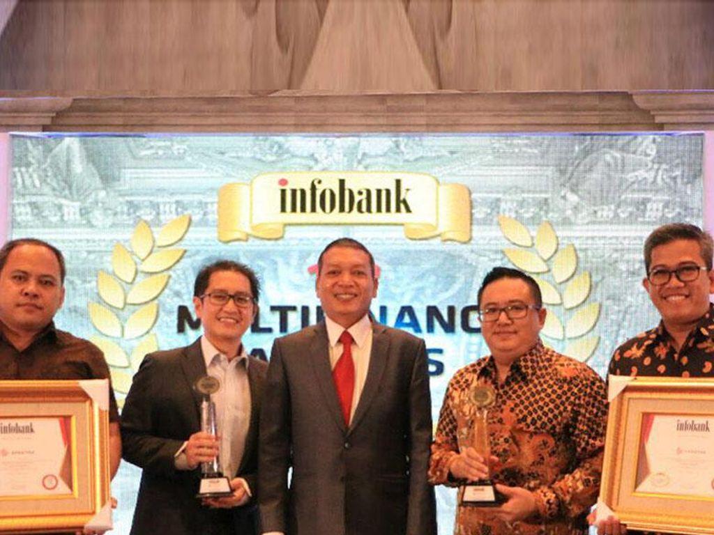 Kinerja Baik, FIF dan AMF Raih Platinum dan Golden Trophy dari Infobank