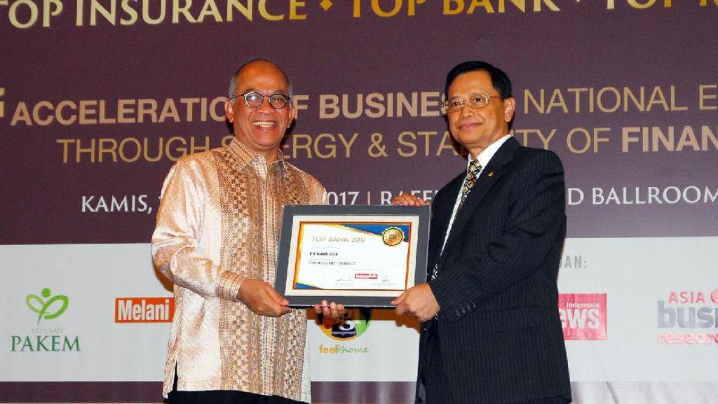 Bank DKI Borong Penghargaan Bergengsi