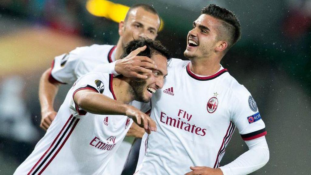 Awal Mantap Milan di Liga Europa