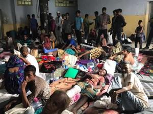 Kewalahan Tampung Rohingya, Begini Penampakan RS Bangladesh