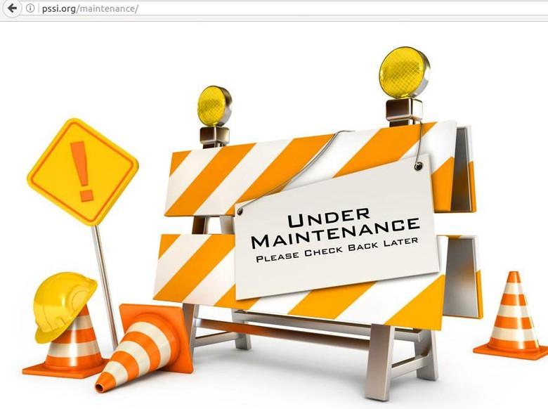Situs PSSI Diretas, Saat Ini Sedang dalam Perbaikan