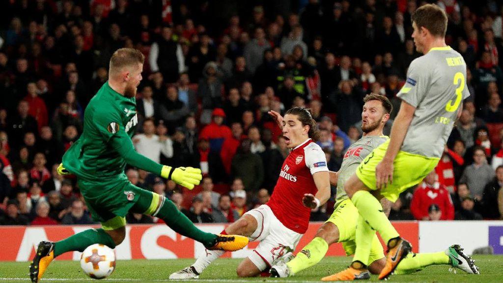 Aksi Arsenal Saat Kalahkan Cologne di Liga Europa
