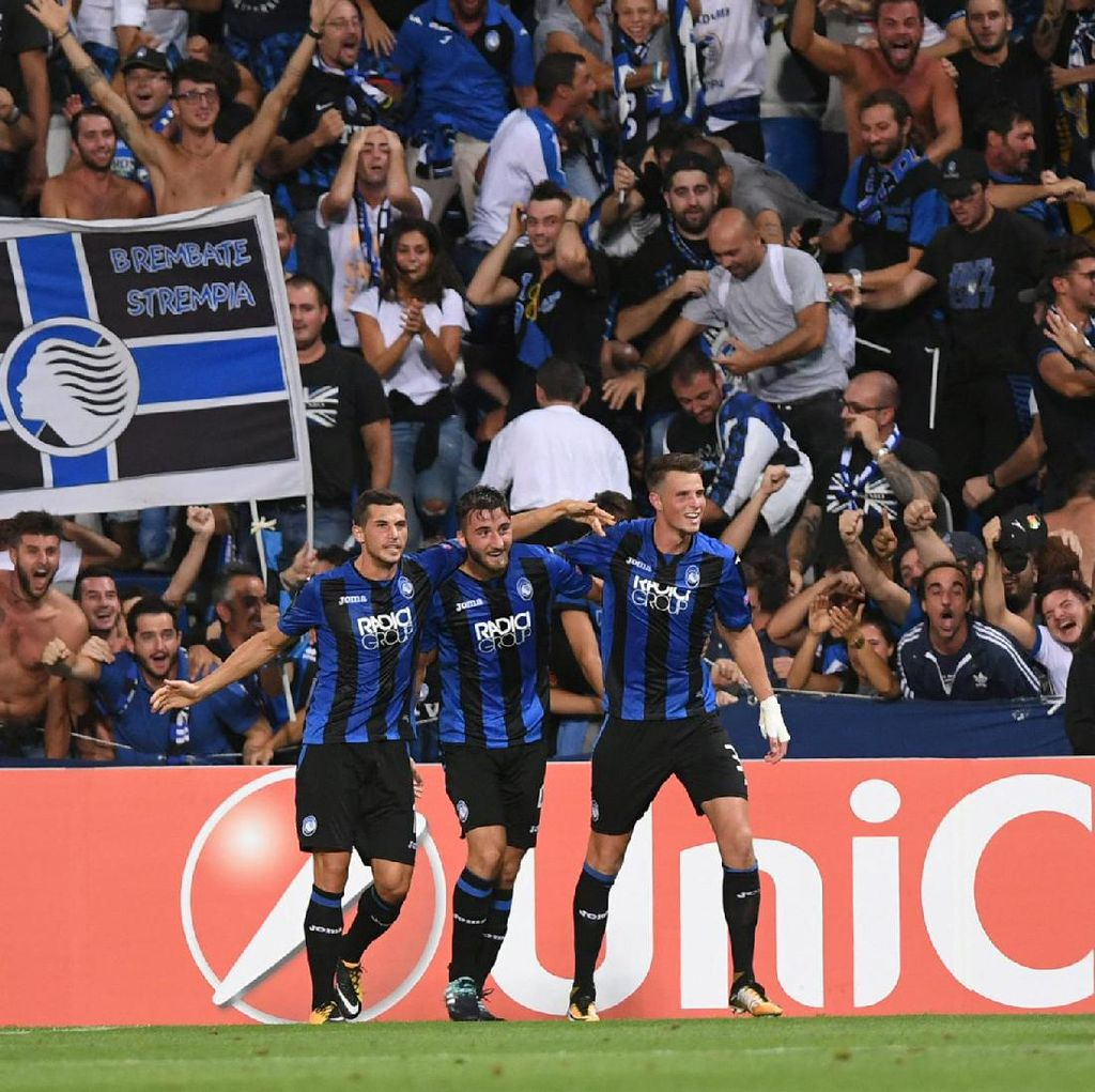 Atalanta Hajar Everton 3-0