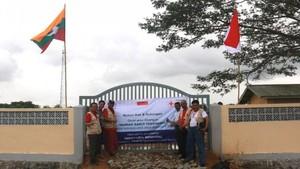 Umat Buddha Indonesia Penyumbang Terbesar Pembangunan RS di Rakhine