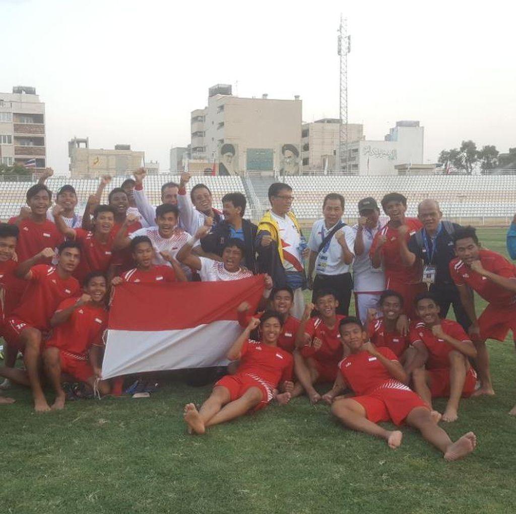 Kalah dari Iran, Timnas Pelajar Indonesia Harus Puas Jadi Runner-up