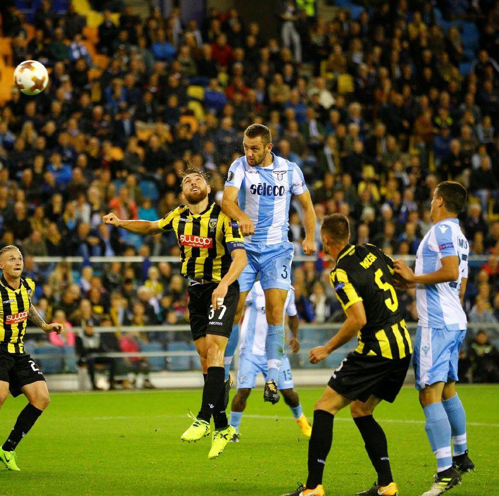 Sempat Tertinggal Dua Kali, Lazio Menang 3-2 atas Vitesse