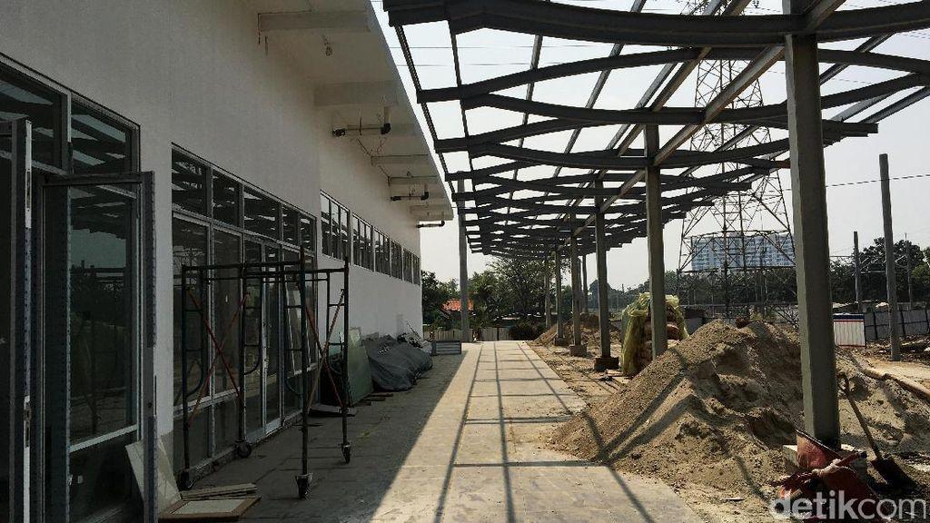 Pembangunan Stasiun Batuceper Dikebut