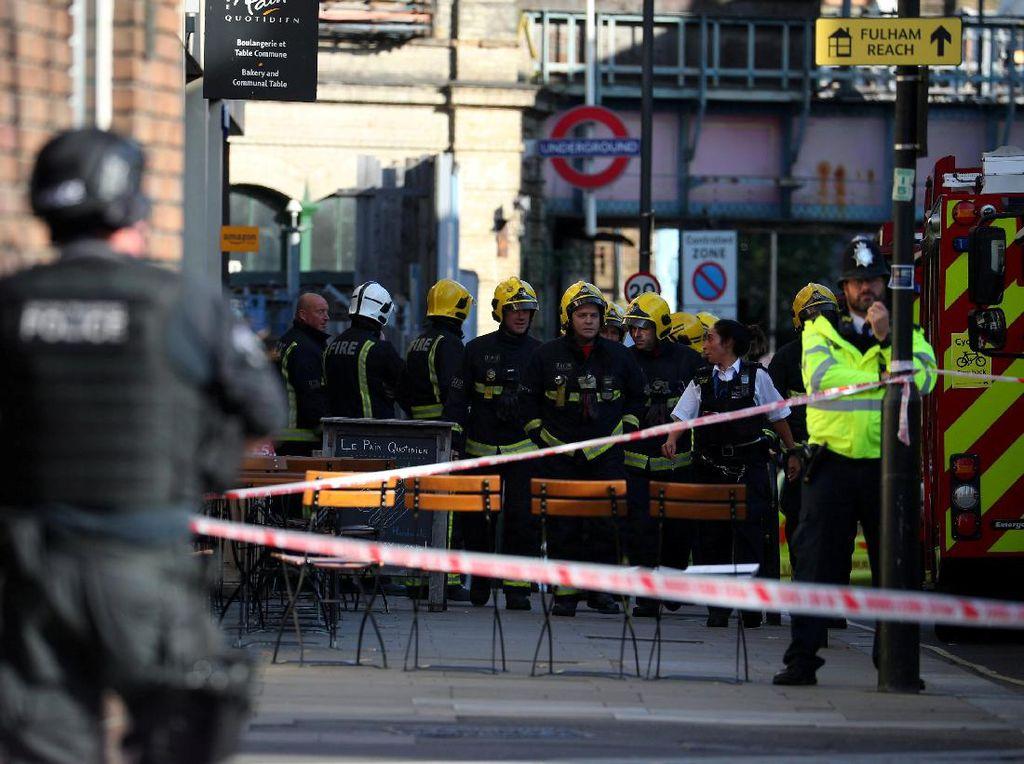 Polisi Tangkap Tersangka Kedua di Teror Bom Kereta London