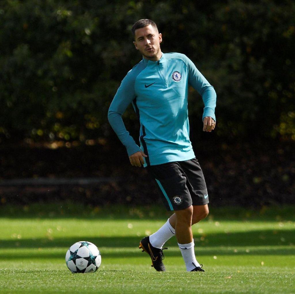 Conte: Hazard Sudah Siap Jadi Starter dan Main Penuh