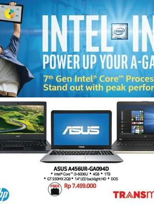 Beli Laptop Gratis Mouse dan Tas di Transmart Carrefour