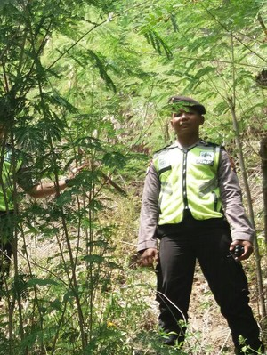 Perempuan Tua Ditemukan Tewas di Kaki Bukit Tiban Probolinggo