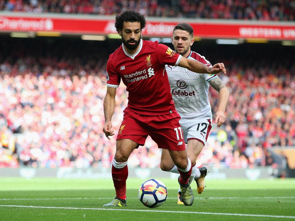 Liverpool Seri dengan Burnley 1-1 di Babak Pertama