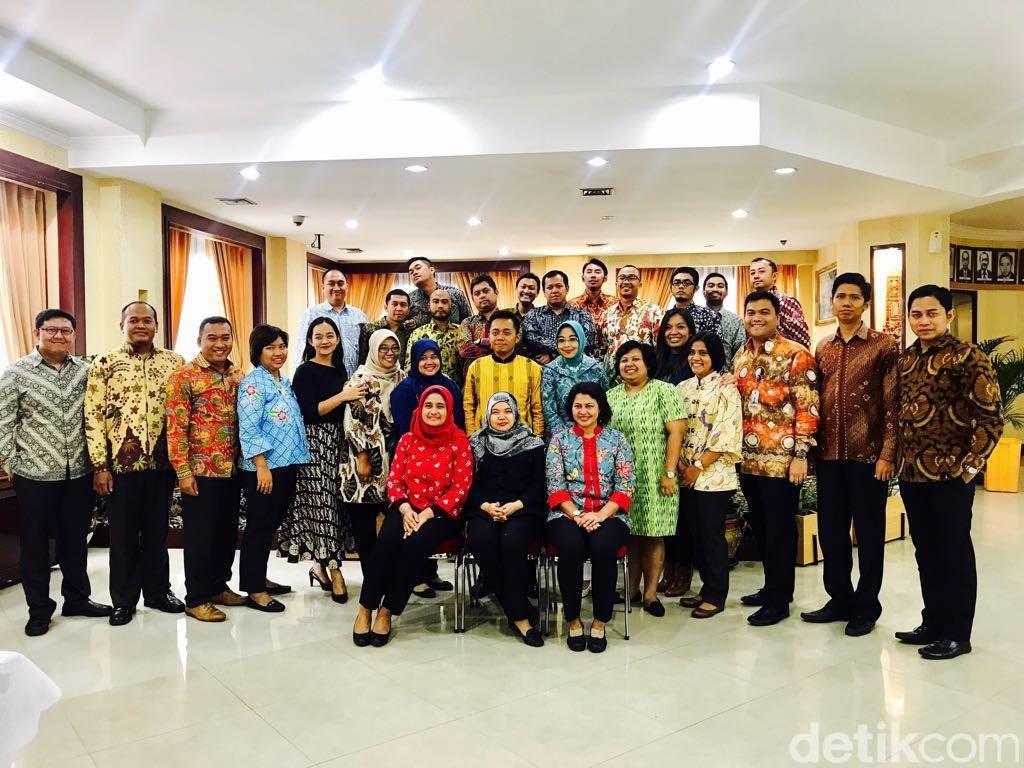 Kegiatan Workshop Media Online Para Diplomat Madya Kemlu