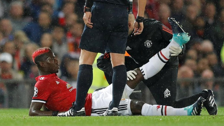 Tidak Bisa Di Pastikan Pogba Harus Absen Berapa Lama Ucap Mourinho