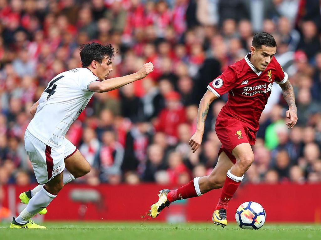 Liverpool Ditahan Burnley di Anfield