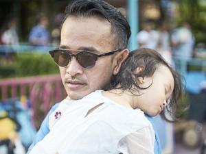 Foto-foto Ini Buktikan Ruben Onsu adalah <i>Super Dad</i>
