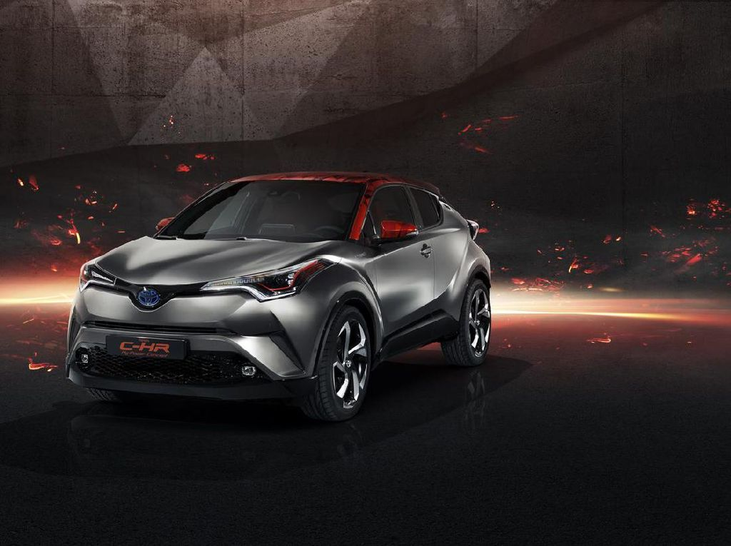 Toyota C-HR Hy-Power, Lebih Hot