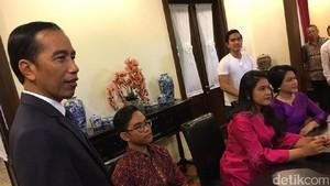 Kahiyang Nikah Rabu 8 November, Jokowi: Sabtu Gedungnya Full