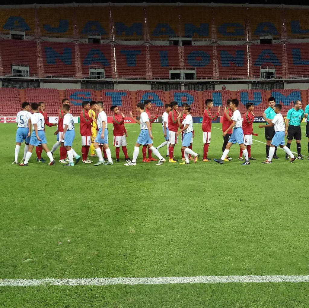 Menang 18-0, Timnas U-16 Diminta Tetap Rendah Hati