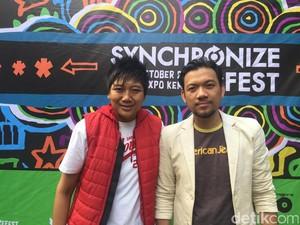 Base Jam Reunian di Synchronize Fest 2017
