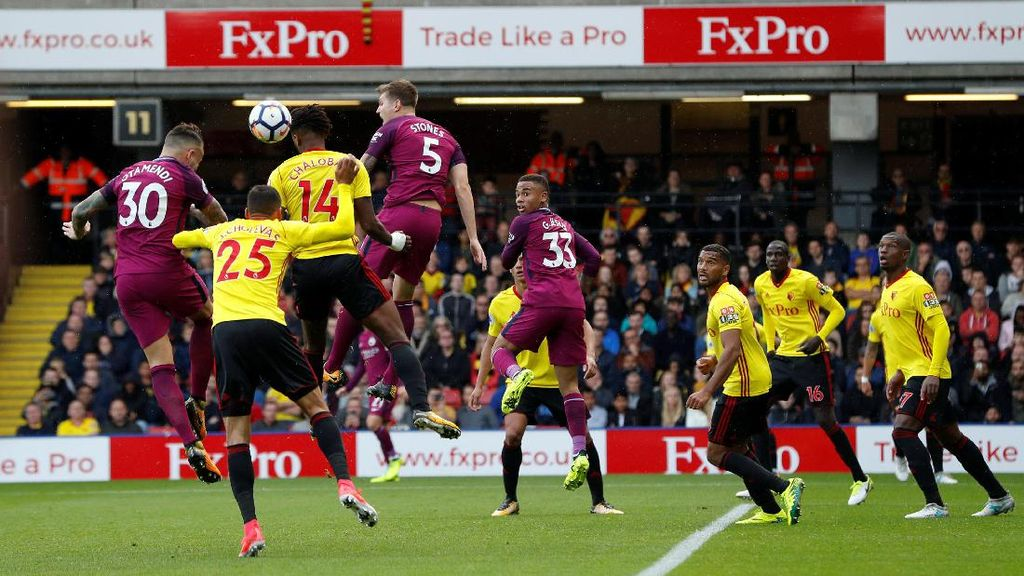 Parade Gol City di Vicarage Road