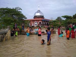 4.076 Rumah Terendam Banjir di Tiga Kabupaten di Sumut