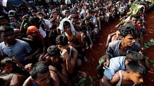 Trump Tak Berkomentar Apapun Saat PM Bangladesh Singgung Rohingya