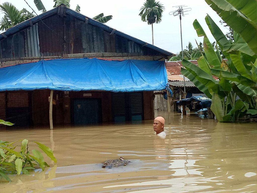 4 Kecamatan di Tebing Tinggi Sumut Dilanda Banjir