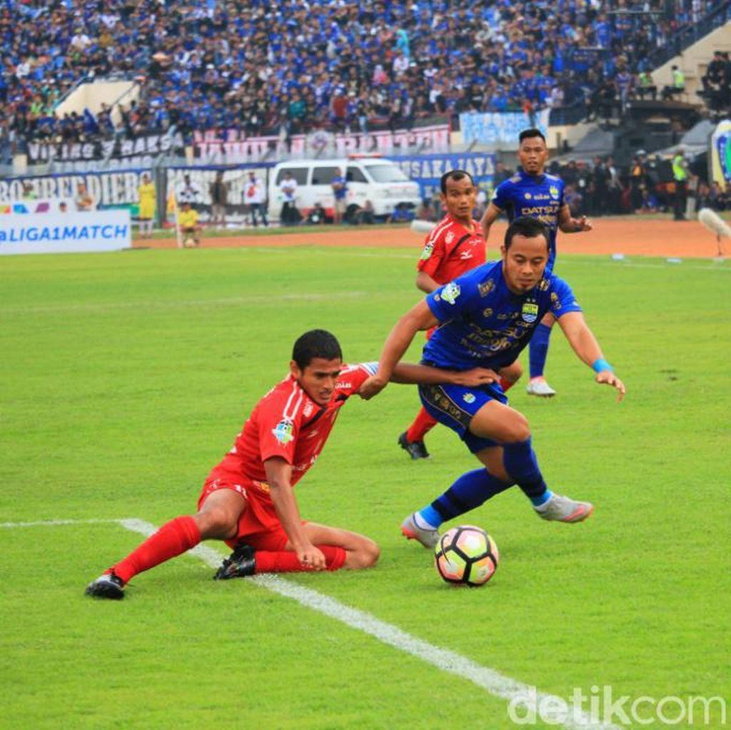 Laga dengan Borneo FC Ditunda, Persib Alihkan Fokus ke Bali United