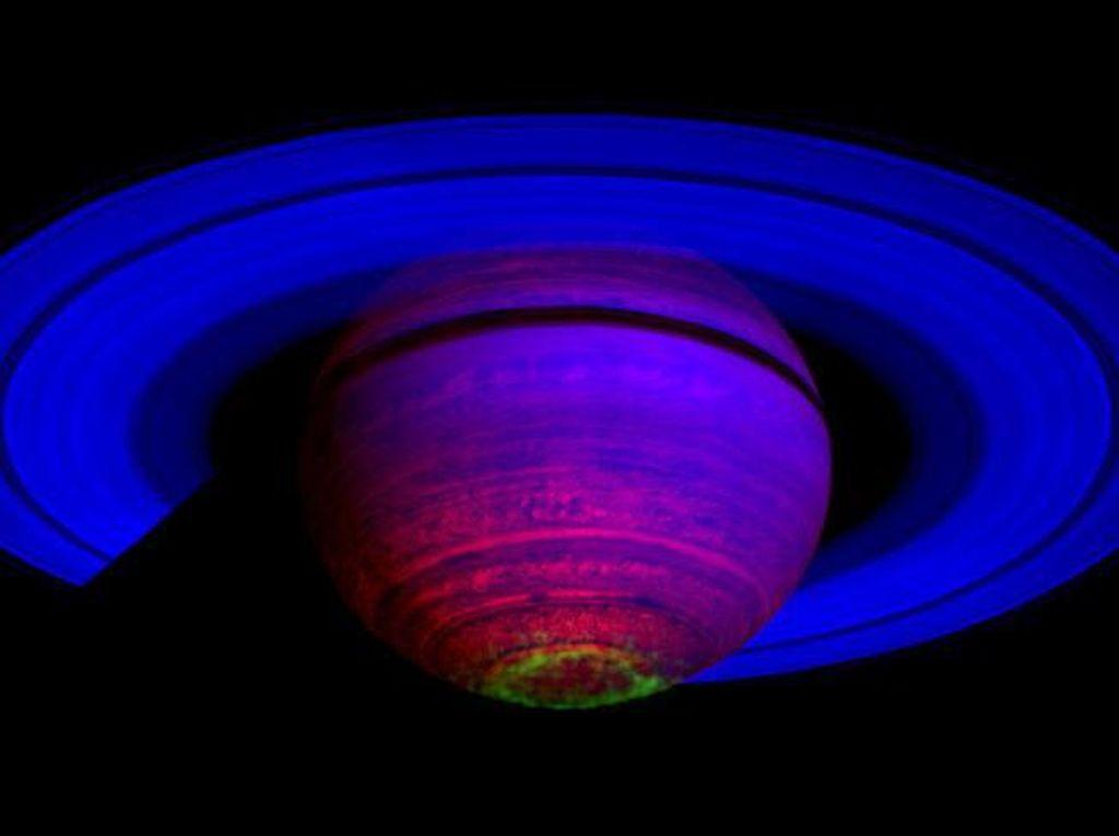 Menakjubkan! Foto Saturnus Hasil Jepretan Pesawat Luar Angkasa Cassini