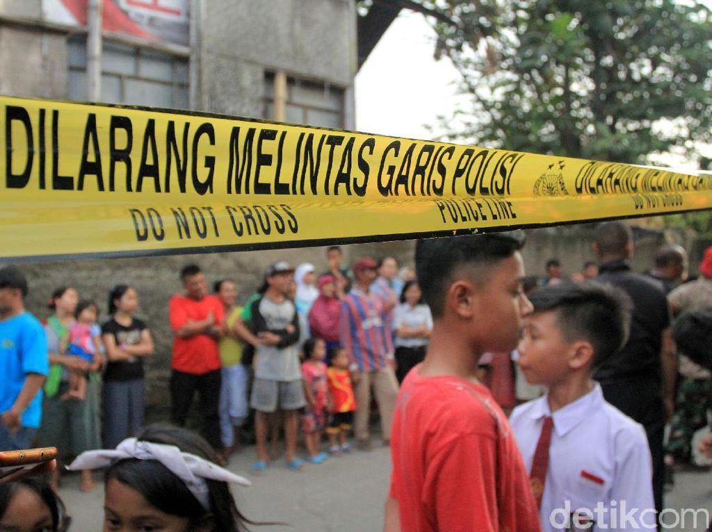 Disegel, Gudang Bahan PCC di Cimahi Terakhir Digunakan 6 Bulan Lalu
